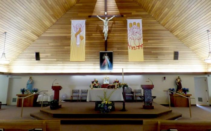 Catholic Church of St Joseph easter season